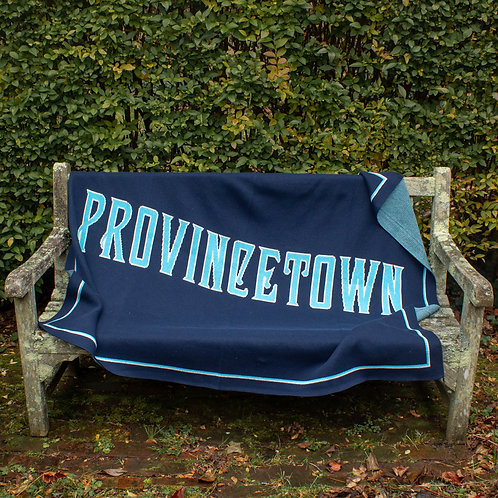 Provincetown Upcycled Cotton Blanket