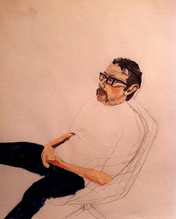 Portrait of Josh Patner by Christopher Brooks
