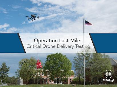 DroneUp сотрудничает с инновационным центром техноогий из Вирджинии для испытаний