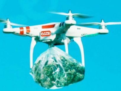 Narcodrones: Smuggling drugs across US southern border never been easier when using drone quadcopter