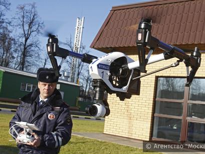 Квадрокоптер с мобильными телефонами сбили над нижегородским СИЗО