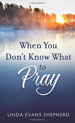 When You Don't Know What to Pray by Linda Evans Shepherd