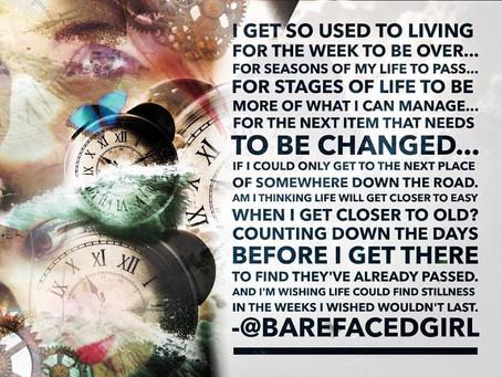 Tips for #BarefacedCreative Reflection
