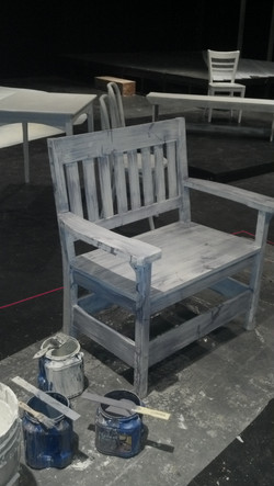 Chair distressed