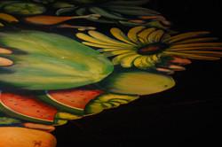 Fruit mural detail