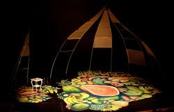 Complete floor on stage