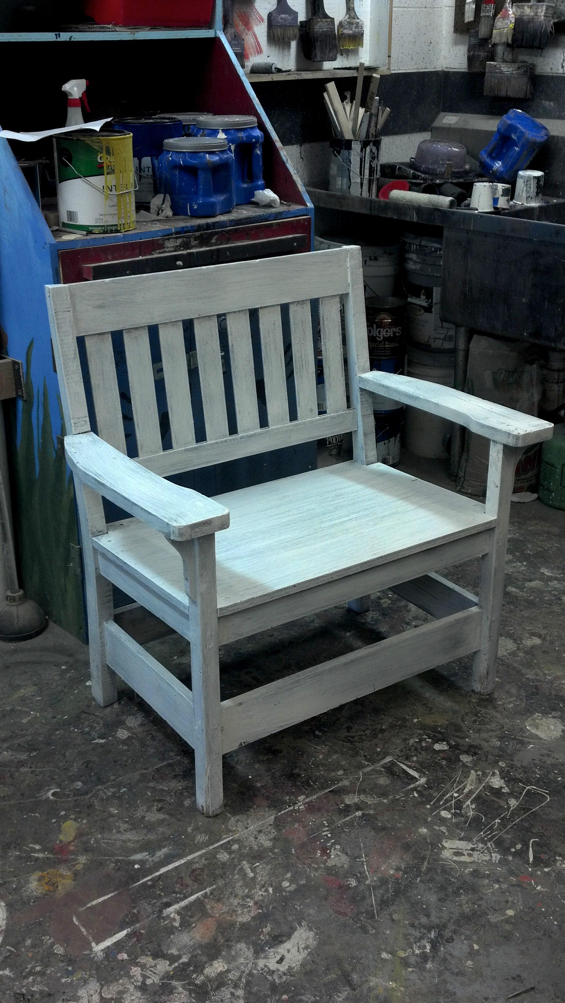 Porch Chair base paint