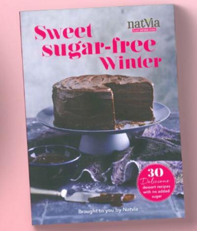 FREE Sweet Sugar-Free Winter Cookbook