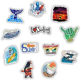 FREE Surfboard Stickers