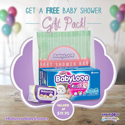 FREE Baby Shower Gift Pack