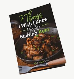 FREE Keto Diet Guide