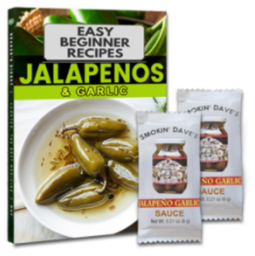 FREE Jalapeno Sauce And Recipe Book