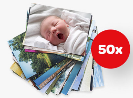 Huggies - 50 FREE Photo Prints