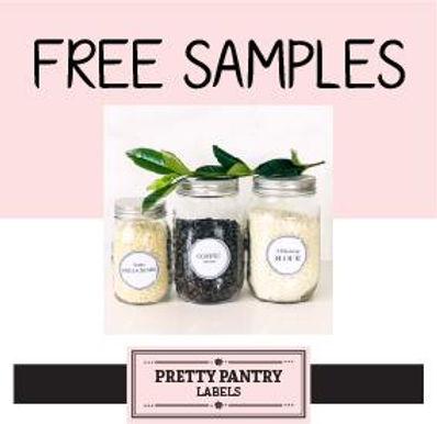 FREE Kitchen Labels