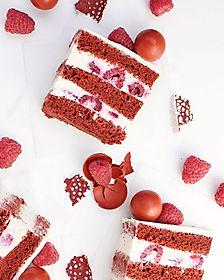 Vegan cake Red Velvet. ❤️❤️❤️_Red Velvet