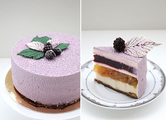 Vegan mousse cake