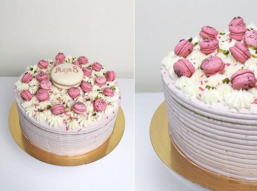 Vegan Cake Fraisier.