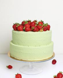 Vegan Cake Fraisier. 🍓🍓🍓