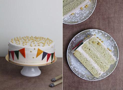 Vegan Cake Creme Brulee.