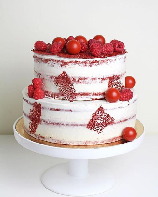 Vegan cake Red Velvet. ❤️❤️❤️