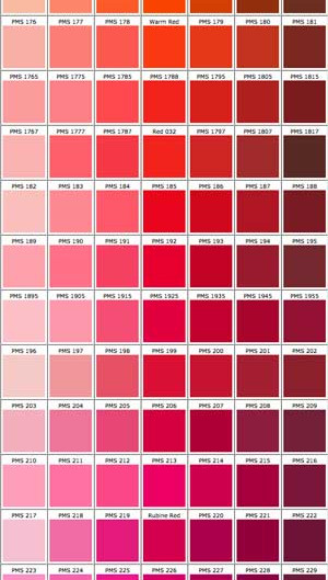 The Meaning of Colors: RED