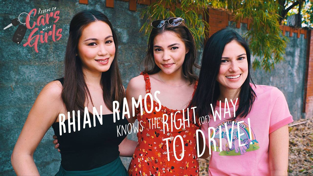 Rhian Knows the Right Way to Drive - Riding in Cars with Girls Ep. 7