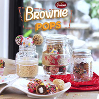 MY San Grahams - Easy as One, Two, Treats, Brownie Pops