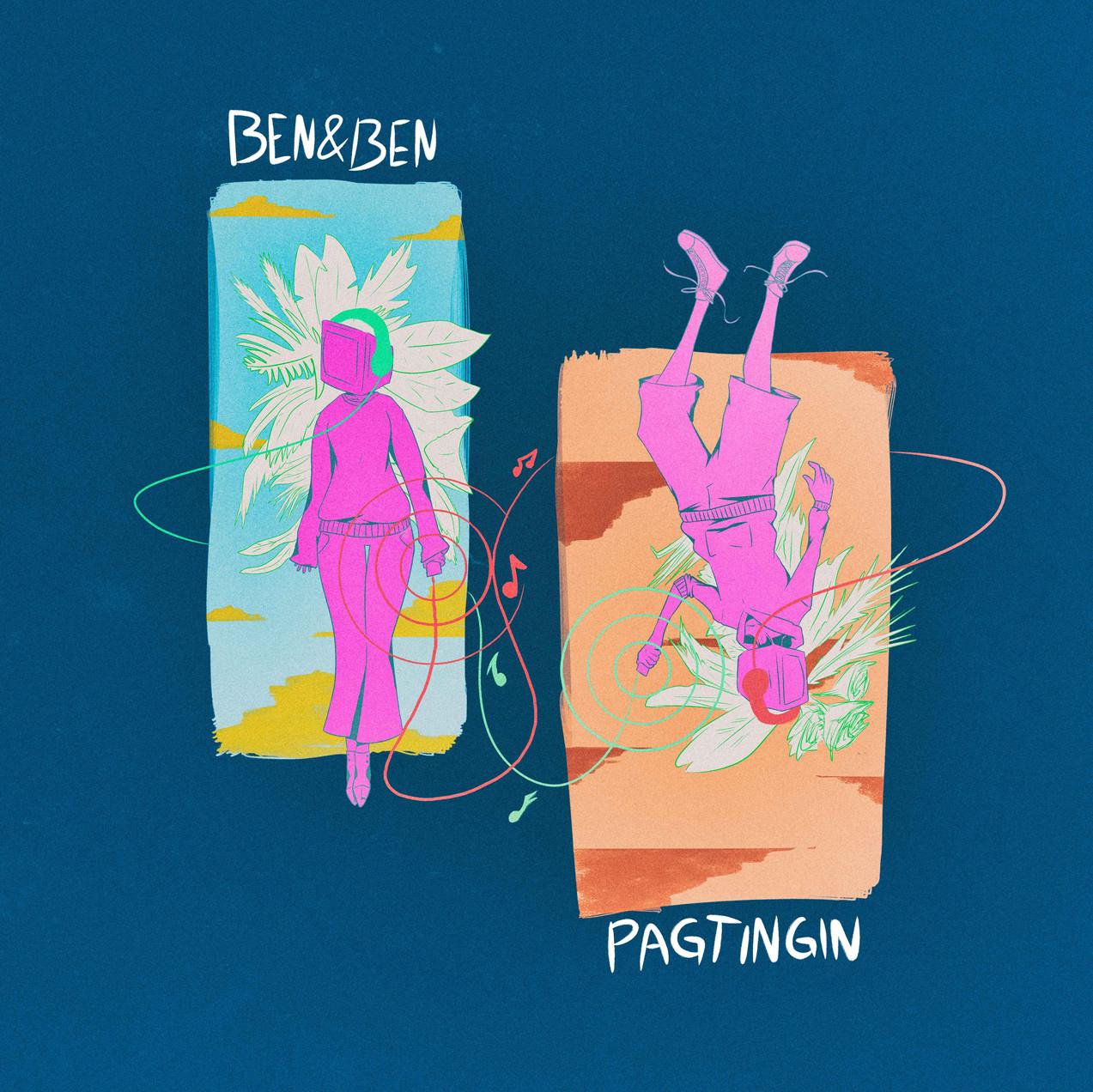 'Pagtingin' - Song art for Ben&Ben's new singles. Art by Nicolai Maverick