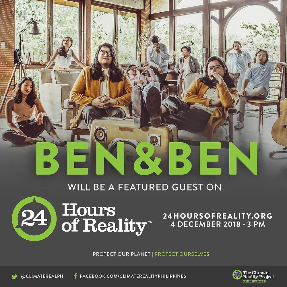 Ben&Ben x 24 Hours of Reality