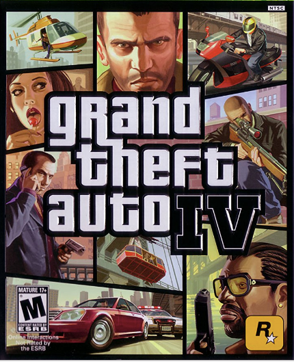 Poster - Grand Theft Auto IV