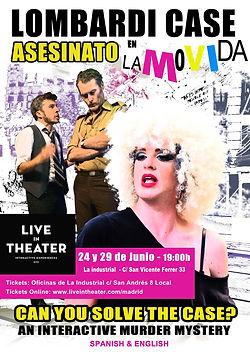 Caso Lombardi - Poster