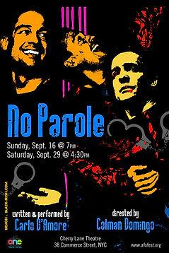 No Parole - Poster