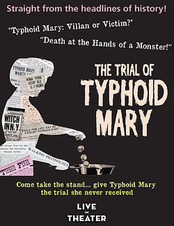 The Typhoid Mary 1915 - Poster