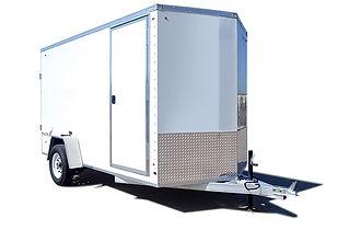 platinum aluminum cargo trailer