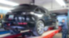 mechanics wheel alignment at jacks service center