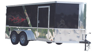 Vision motorcycle trailer