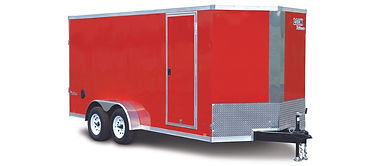 Vision cargo wide trailer