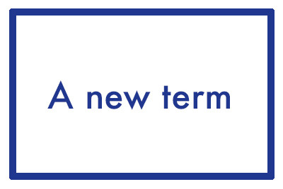 A new term - ideas to help make the best start