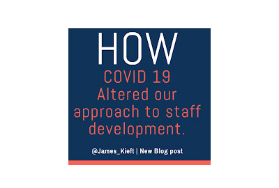 Altering our approach to staff development.