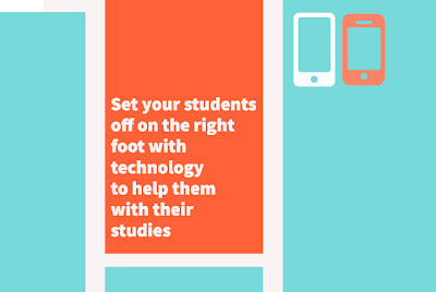 Set your students off on the right foot with technology to help them with their studies - the import