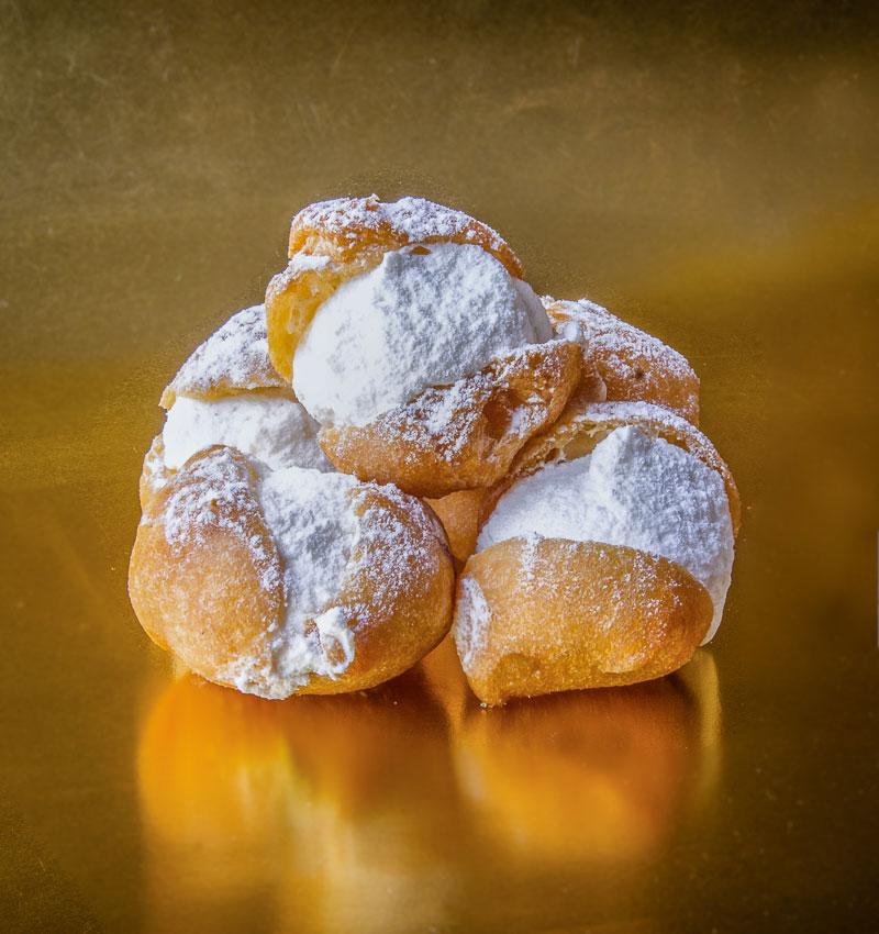 Buñuelos de nata