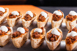 Minikebab de ternasco en pan de pita