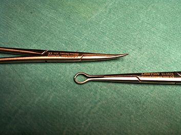 Instrumental quirúrgico vasectomía