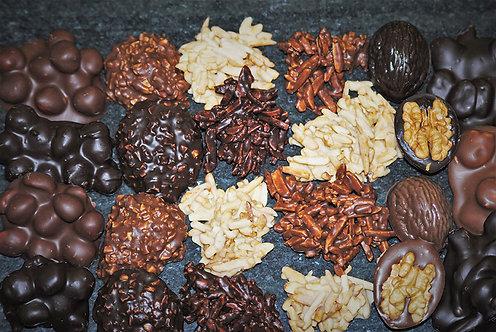 Bombón frutos secos