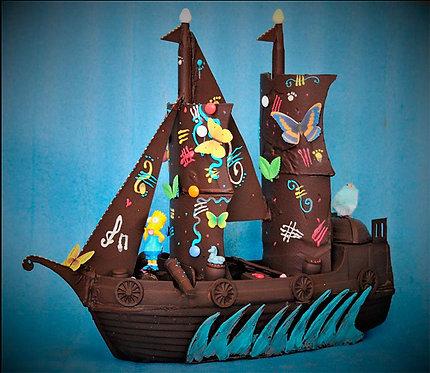 Barco pirata - 2,6 Kgrs.