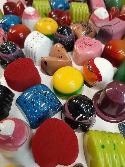Caja de bombones ganaché