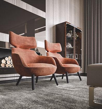 Poltrona Bergere  By Richmond Design Barnini Oseo