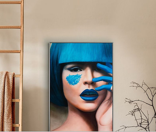 Quadro Blue By Schuller