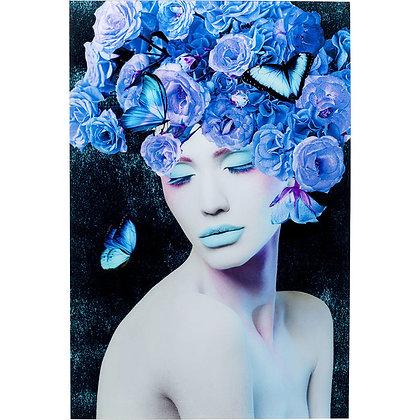 Quadro Blu Queen By Kare