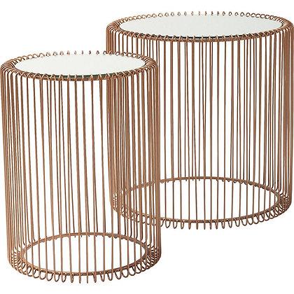 Set/2 Tavolini Wire By Kare